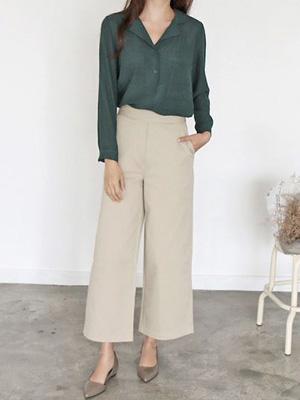 Denny Wide Pants (30% OFF)