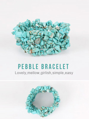 Pebble bracelet (50% OFF)