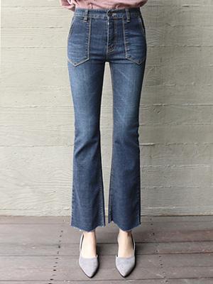 stitch Boot cut Pants (30% OFF)