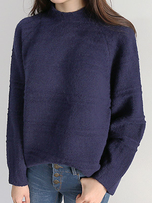 Push Half Neck Knit (20% OFF)