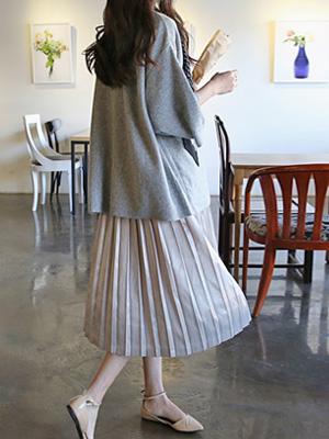 Ergo Pleats Skirt (30% OFF)