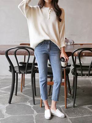 Light 9 Pants Straight Pants (30% OFF)