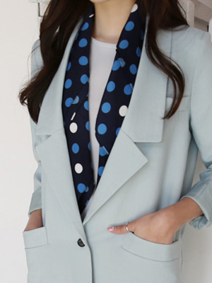 T Dot point scarf