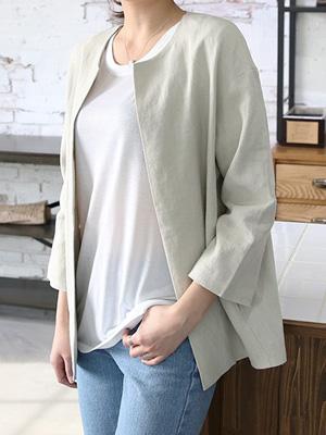 Today's Linen Jacket (30% OFF)
