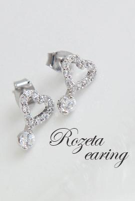 Rosetta earring (30% OFF)