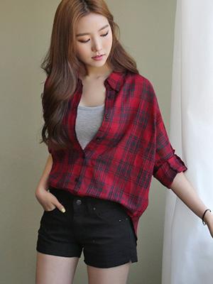 Linen Check Shirt