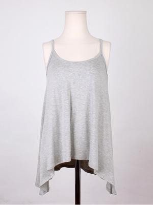 Flare Sleeveless shirts (20% OFF)