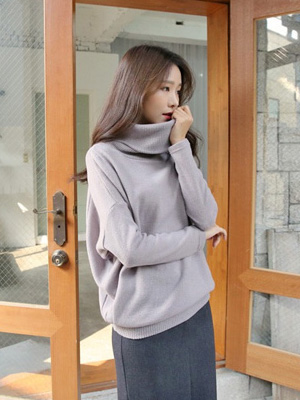 Carboxylic small Turtleneck Knit