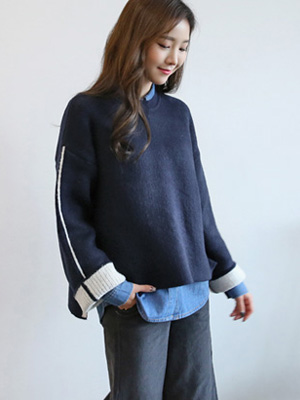 Dru color combination Knit (10% OFF)