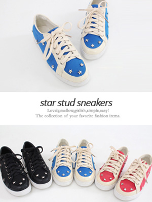 Star Stud Sneakers (3cm) (50% OFF)
