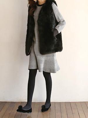 Beverly Fur Vest