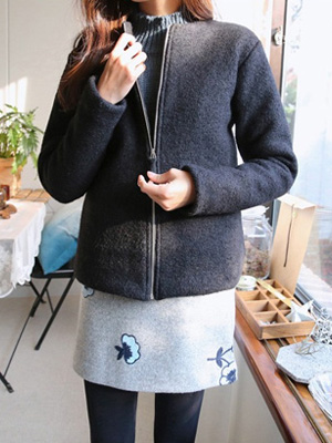 And Cluj Zip up Coat (4Color)