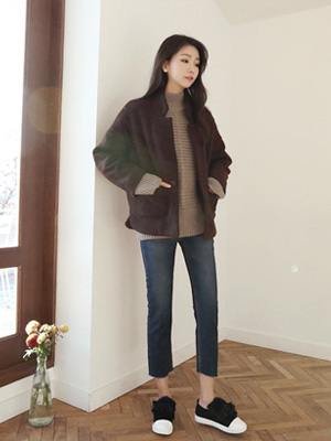 Treasure civil Short Coat