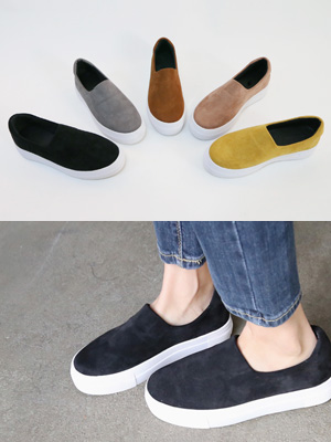 Beaute Height increase Slip-on Shoes (3.5cm)