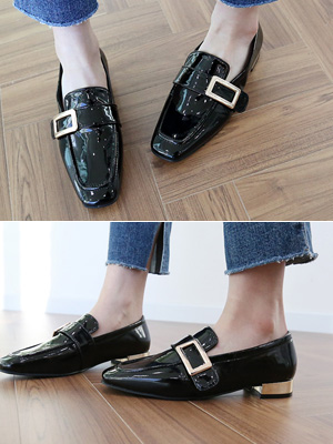 Enamel Loafers (2cm) (30% OFF)
