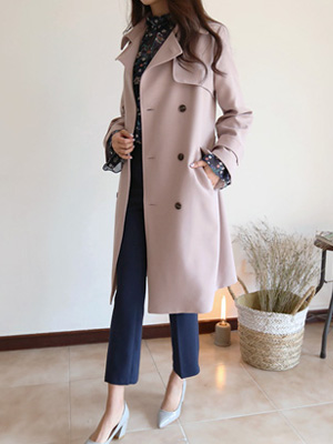 Toulon five Trench Coat