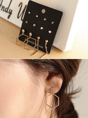 Fidel earring Set