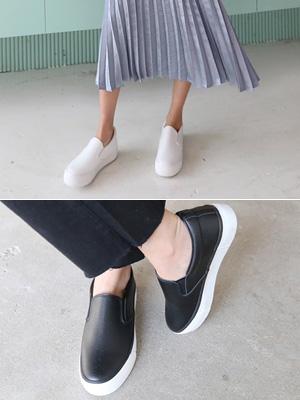 Noah furnace Leather Slip-on Shoes (3.5cm)