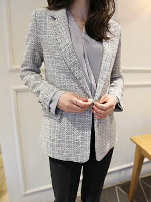 Annie Seymour Tweed Jacket