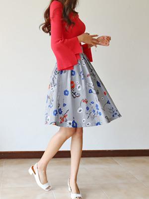 Cartoon Flower Skirt (30% OFF)