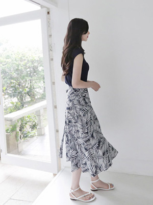 Areca Wrap Skirt