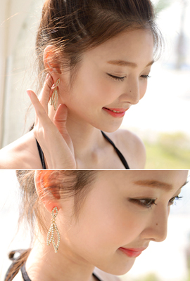 Plana cubic earring (60% OFF)