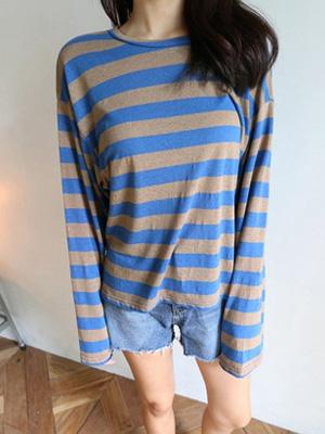 Night Walk Stripe T-shirt