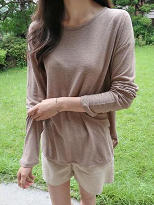 Lighter I Linen T-shirt (20% OFF)