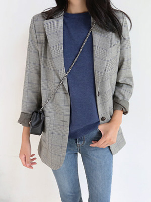 The Glen Check Jacket