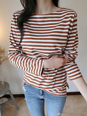 Topping Stripe T-shirt