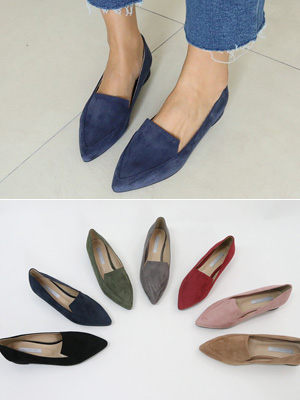 Dont Suede Loafers (2cm)