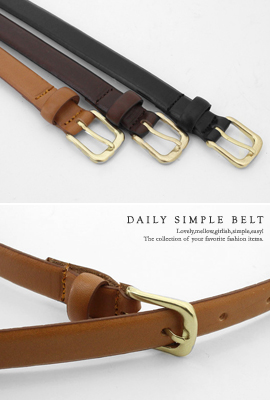 Daily simple Belt