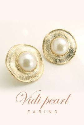 Vivid pearl earring (50% OFF)