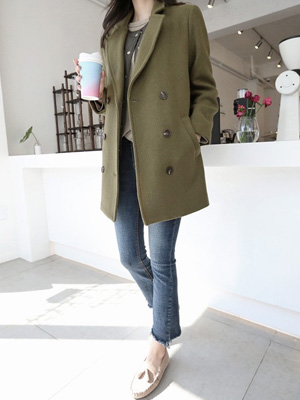 Pole double Coat