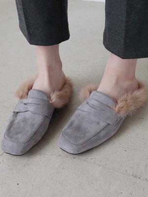 Fur Slippers (2cm)