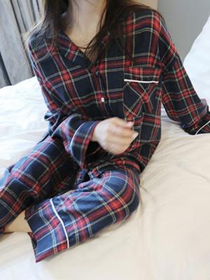 Sono Check Pajama Set