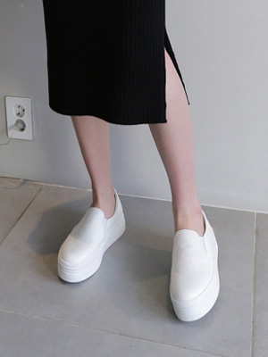 Journal Height increase Slip-on Shoes (4cm)