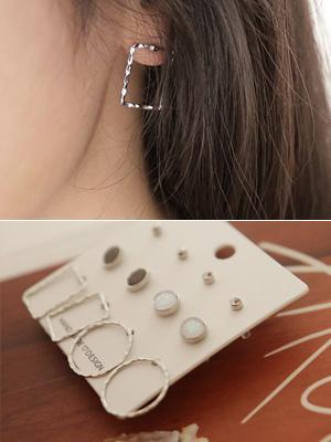 Grap earring Set