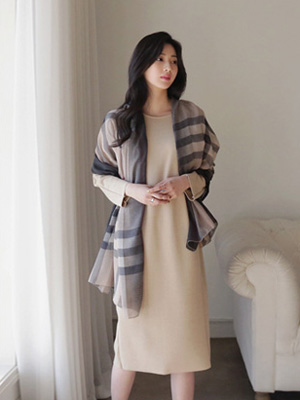 Broome Check Scarf
