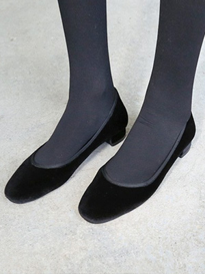 ★ Fitting ★ Pettoline Velvet Flat (30% OFF) / 245mm