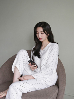 Softy Dot Pajama Set