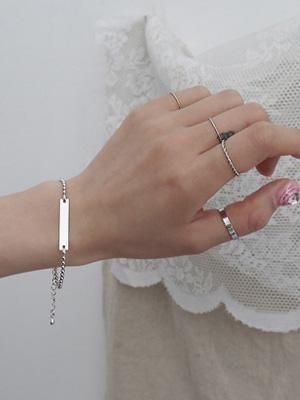 Various Bracelet Ring Set