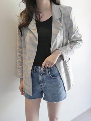 Kerron Denim Shorts (S, M, L)