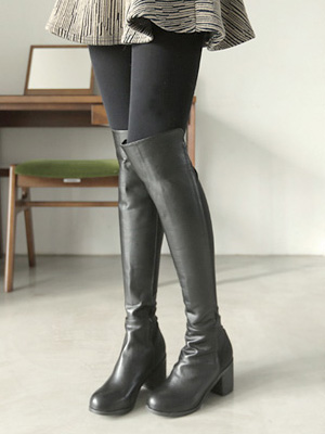 High Tension Long Boots (6cm) (35% OFF)