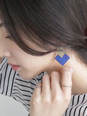 Livin square earring
