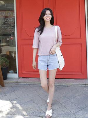 Denim denim shorts (S, M, L)
