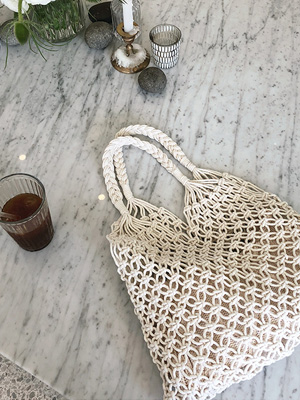 Oz Summer Knit Bag