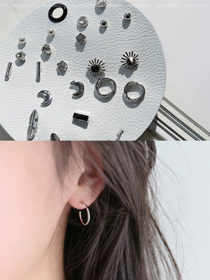 Blat earring set