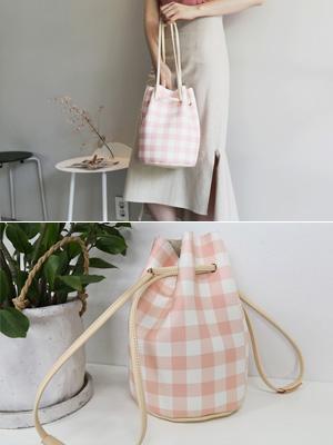 Bold Check Amber Bag