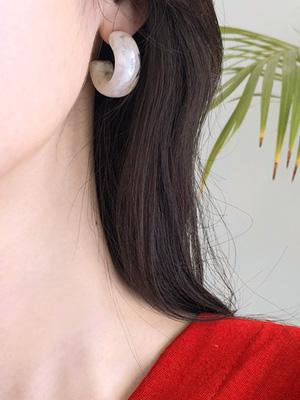 石 링 귀걸이
